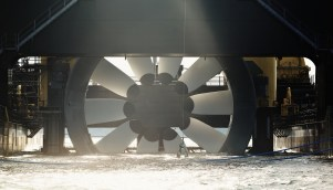 Tidal turbine is among the renewable energy generation sources Alabama Power is considering in its latest RFP. (Getty Images)