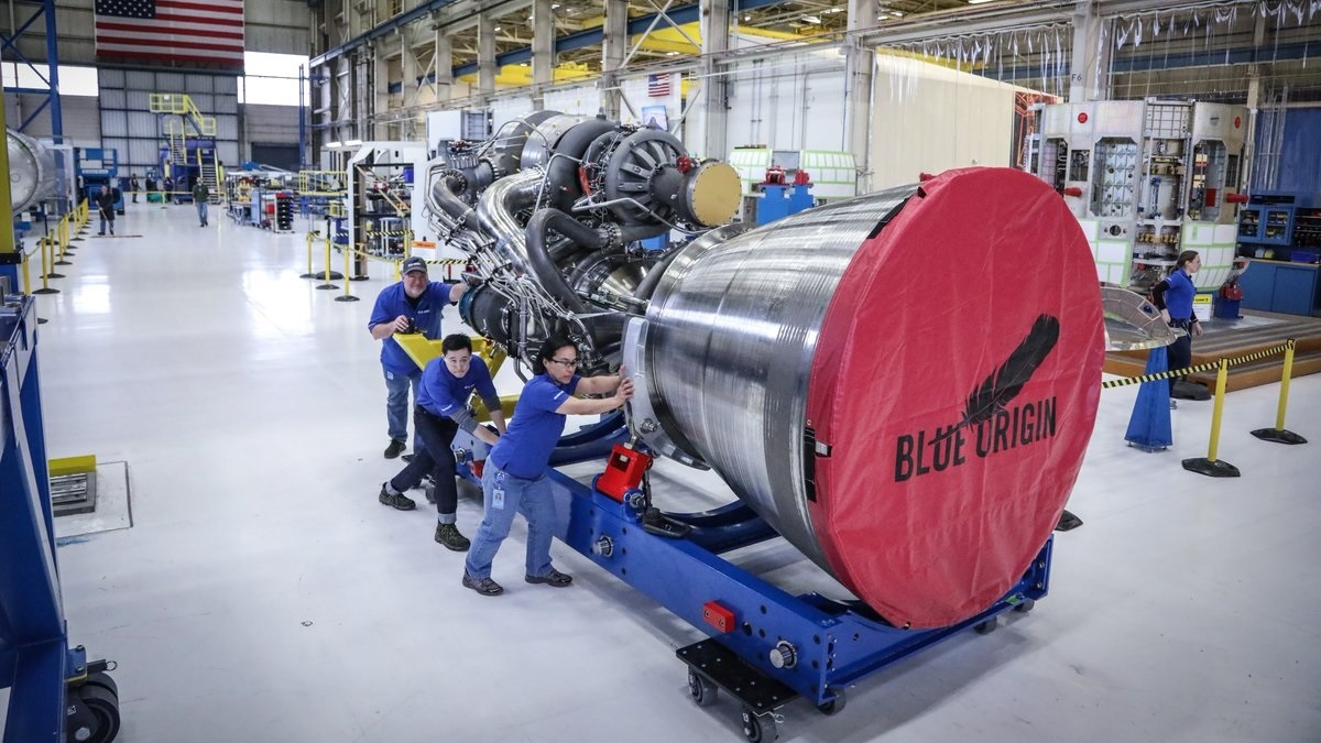 ULA selects Blue Origin engines for Vulcan rocket in boost for Alabama