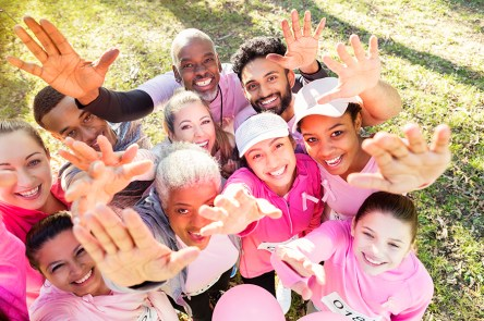 Get in the fight for a cure. (Getty Images)