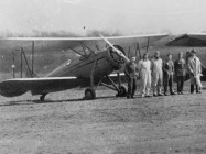 Roberts Field was named in honor of Lt. Arthur Meredyth Roberts of Birmingham, who was killed in a flying accident over France. The 106th Observation Squadron of the Alabama National Guard was housed at Roberts Field until 1931, when it moved to the new municipal airport. (From Encyclopedia of Alabama, courtesy of Birmingham Public Library Archives)