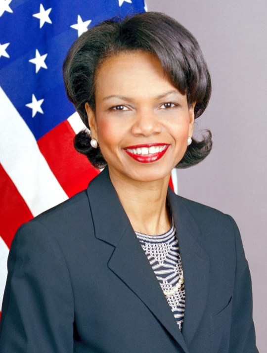 An official portrait of Condoleezza Rice, 2005. (U.S. Department of State, Wikipedia)