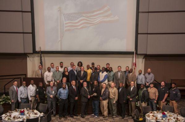 Many veterans said the program made them feel highly valued. (Billy Bryan/Alabama NewsCenter)