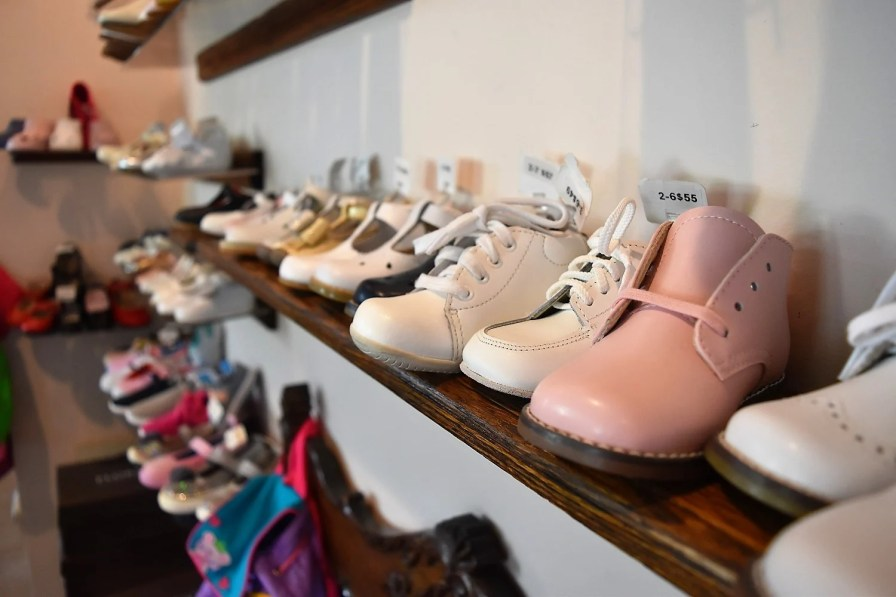 J-Ray offers expert fitting services for children's shoes. (Alabama Retail Association)