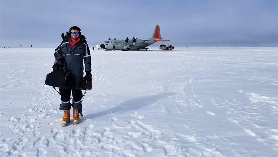 In frigid Greenland, University of Alabama engineering student helps understand climate