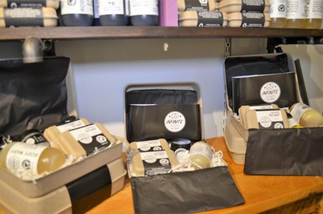 Christopher Funderburk took lye soap lessons from his grandmother and created a business that caters to the modern customer. (Michael Tomberlin / Alabama NewsCenter)