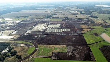 The Mazda Toyota Manufacturing USA plant under construction in Huntsville. (contributed)