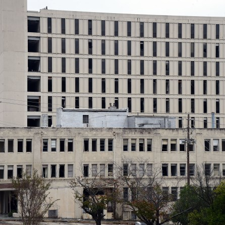 Buildings at the former Carraway Hospital are shown in Birmingham, Thursday, Nov. 15, 2018. Corporate Realty is planning to demolish most of the buildings on the campus and build a mixed-use development with residential, retail, office, hotel and entertainment components. (Mark Almond)