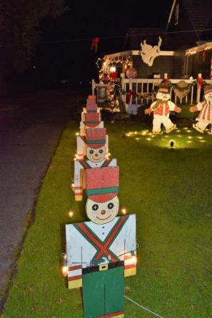 Latham's Toy Shop display has become a holiday tradition in Trussville. (Donna Cope)