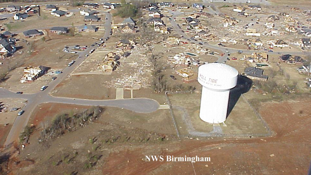 On this day in Alabama history: Deadly tornado struck Tuscaloosa