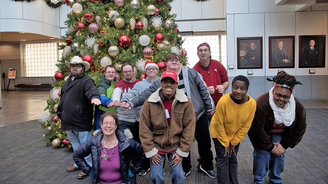 Exceptional Foundation carolers bring holiday spirit to Alabama businesses