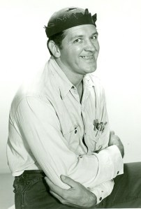 """Photo of George Lindsey from """"The Andy Griffith Show,"""" 1970. (CBS Television, UPI Telephoto, Wikipedia)"""