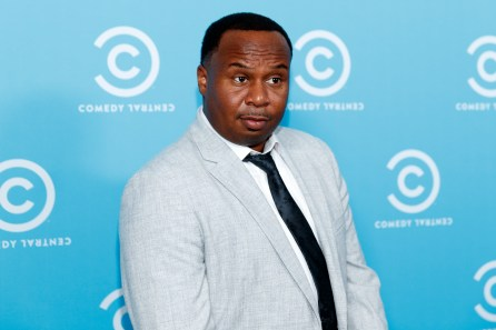 """Daily Show"" correspondent Roy Wood Jr. attends the Comedy Central Press Day on May 23, 2017 in Los Angeles. (Photo by Rich Polk/Getty Images for Comedy Central)"