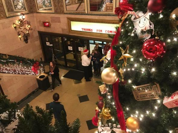Christmas is a special time at the Alabama Theatre. (Michael Tomberlin / Alabama NewsCenter)
