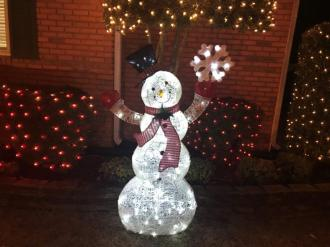 This Trussville home is in the holiday spirit. (Donna Cope)
