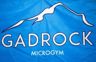 """GadRock's founders say their choice of the term """"microgym"""" is a reference to their time working at Back Forty Beer's microbrewery. (Justin Averette/Shorelines)"""