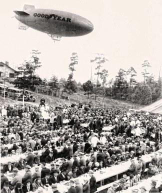 Dedication of Lay Dam. (Alabama Power Company Archives)