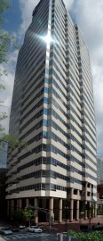 The Nashville City Center building was designed by Hugh Stubbins in 1988. (Jice99, Wikipedia)