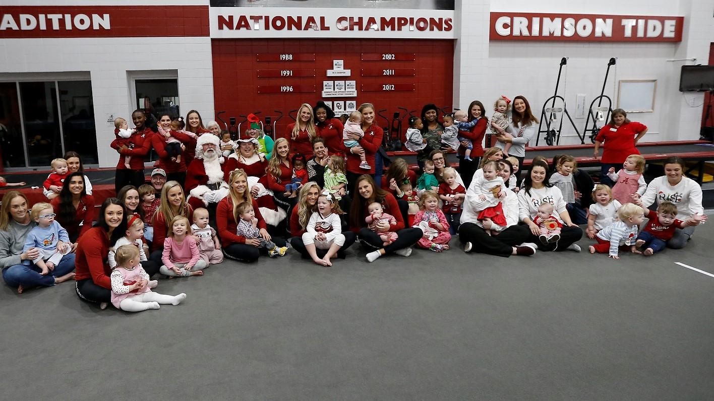 University of Alabama Gymnastics hosts Stallings RISE Center holiday play date