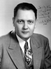 Carl Elliot (1913-1999) represented Alabama in the U.S. Congress from 1949-1964, focusing his efforts on social reforms and education. Before and after his terms in Washington, D.C., Elliot worked as an attorney in Jasper. He was given the John F. Kennedy Profile in Courage Award in 1990. (From Encyclopedia of Alabama, courtesy of Alabama Department of Archives and History)