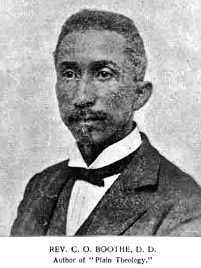 """Mobile County native Charles Octavius Boothe (1845-1924) was an educator and religious leader who influenced the founding of Selma University and several other Baptist organizations in Alabama. He is best known for his book """"The Cyclopedia of the Colored Baptists of Alabama."""" (From Encyclopedia of Alabama)"""