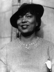 "Alabama native Zora Neale Hurston (1891-1960) was a writer, folklorist and member of the Harlem Renaissance of the early 20th century. She is best known for her novels, such as ""Their Eyes Were Watching God,"" published in 1937. (From Encyclopedia of Alabama, courtesy of Library of Congress)"