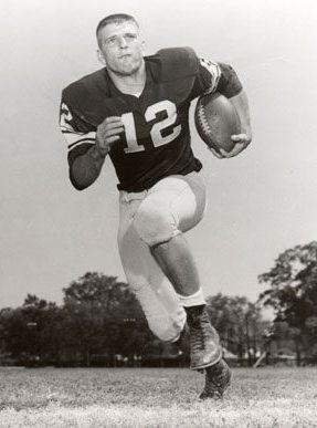 "Jackson County native Pat Trammell (1940-1968) was an All-American quarterback for coach Paul ""Bear"" Bryant's University of Alabama football team from 1958-61, leading the Crimson Tide to a record of 26-3-4 and the 1961 national championship. (From Encyclopedia of Alabama, courtesy of Paul W. Bryant Museum, University of Alabama)"