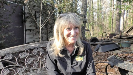 Carol Clark founded Kidz Outdoors with her husband Rick. (Karim Shamsi-Basha / Alabama NewsCenter)