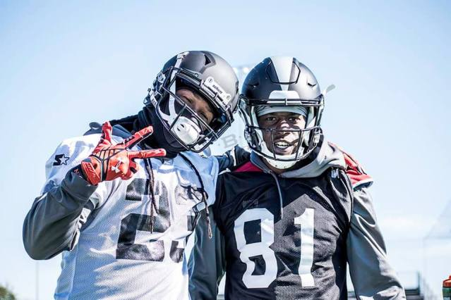 Former Auburn Tigers Trovon Reed and Quan Bray will take the field for the Birmingham Iron beginning this month. (contributed)