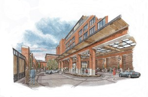The Tony & Libba Rane Culinary Science Center at Auburn University will offer students a learning experience that combines luxury hotel, restaurant and food hall. (Auburn University)