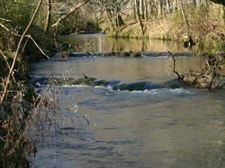 Buck Creek in Alabaster. (Luck0124, Wikipedia)
