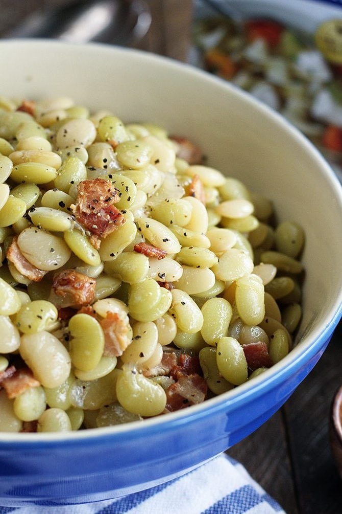 Recipe Southern Butter Beans With Bacon Alabama Newscenter