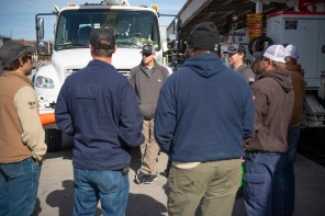 Alabama Power crews are heading to the Eastern Seaboard to assist with restoring power knocked out by winter storms. (Phil Free / Alabama NewsCenter)