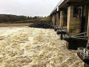 Spillways are open at a number of Alabama Power dams. (Alabama NewsCenter)