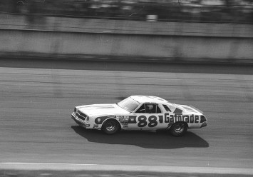 Darrell Waltrip won his first Talladega race in the 1970s and continued his winning ways in the '80s. (ISC Archives via Getty Images)