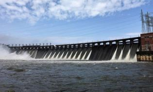 Jordan Lake dam is releasing excessive water from heavy rains. (Alabama NewsCenter)