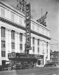 Temple Theatre, 1925. (Birmingham View Company, Birmingham Public Library, Bhamwiki)