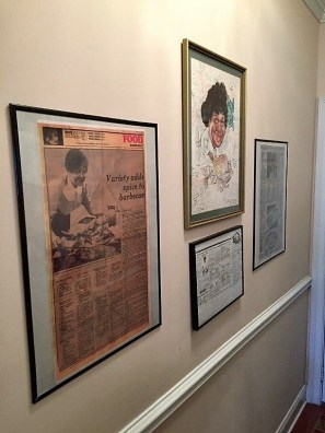 Carolyn Williams keeps reminders of her mother, Vera Beck, throughout her home. (Bob Blalock / Alabama NewsCenter)