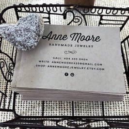 Anne Moore Jewelry has created a following for her simple-but-elegant designs. (contributed)