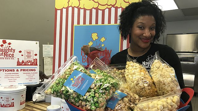 Naughty But Nice Kettle Corn is an Alabama Maker popping its way to local success