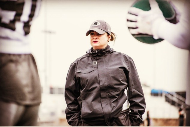 Lori Locust has made a lot of moves since she began coaching football at 40. Her latest move takes her from the AAF to the NFL. (AAF)