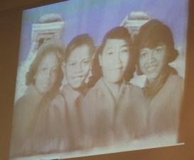The real four little girls. (Justin Averette/Alabama NewsCenter)