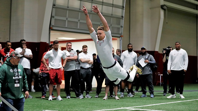 Alabama football hosts Pro Day for players looking to play at next level