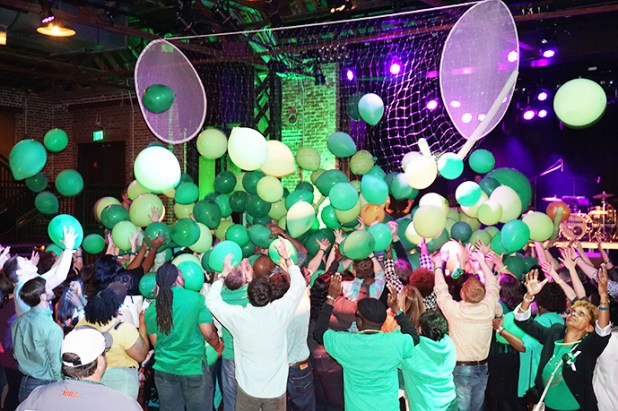 Purchase tickets to Shamrock Shindig and try your luck in the signature balloon drop. (Contributed)