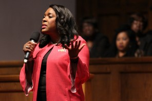 U.S. Rep. Terri Sewell. (Justin Averette/Alabama NewsCenter)