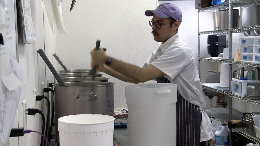 Big Spoon Creamery built a loyal following before ever opening its first location. (Dennis Washington / Alabama NewsCenter)