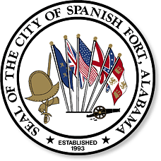 Government seal of the city of Spanish Fort, 1993. (City of Spanish Fort, Wikipedia)