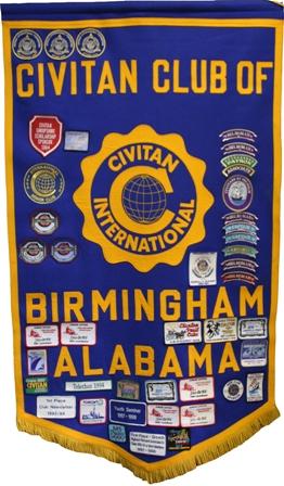 Civitan Club's banner, 2008. (SU Linguist, Wikipedia)