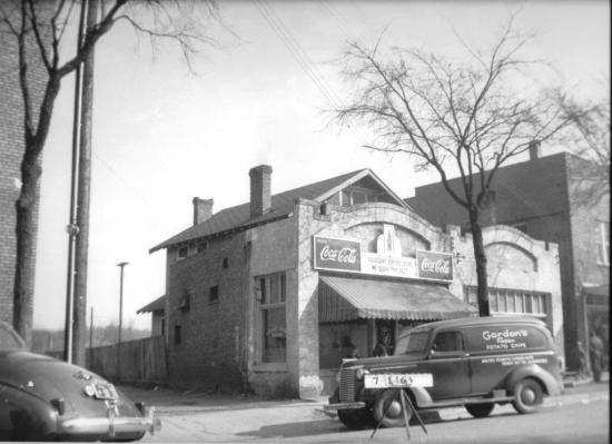 The former Tarrant Coffee Shop is registered as an historic place. (contributed)