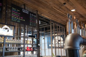 Birmingham District Brewing Co.'s taproom. (Brittany Faush/Alabama NewsCenter)