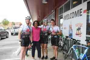 A welcome pit stop. (Meg McKinney/Alabama NewsCenter)